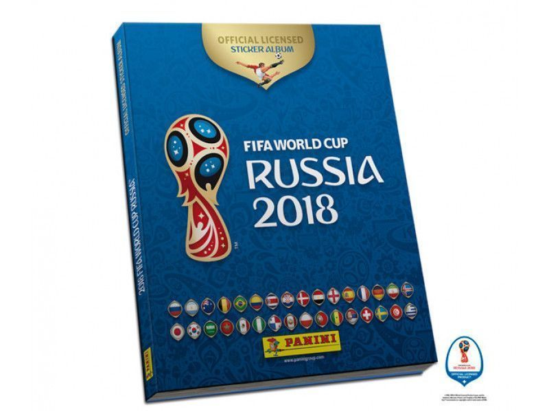 Panini sort son album de la coupe du monde 2018 #4